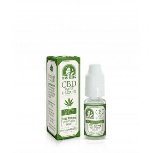 CBD E-liquid sativa