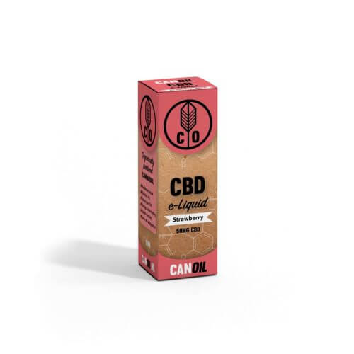 CBD E-liquid strawberry
